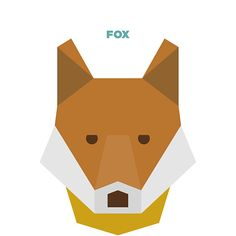 50 Animals Illustrations Drew with Simple Shapes   The Design Inspiration