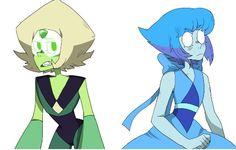 Steven universe peridot and lapis