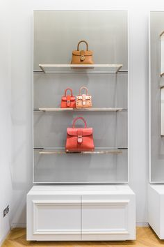 The #Delvaux Boutique at 360Mall in Kuwait City.