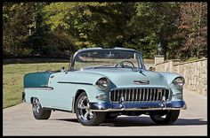 1955 Chevrolet Bel Air Convertible 265 CI, Frame-off Restoration