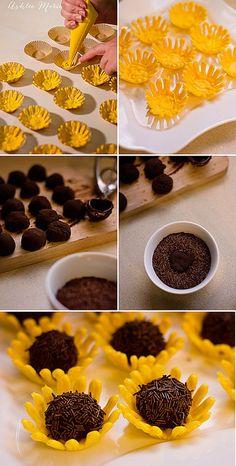 Sunflower Truffles | Ashlee Marie