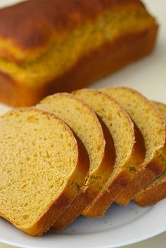 pumpkin yeast bread from Annie's Eats  {for panini, cinnamon toast, bread pudding, French toast...}