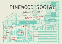 Pinewood Social   Nashville  Trendy hangout featuring New American cuisine, cocktails & bowling in an industrial-chic interior.