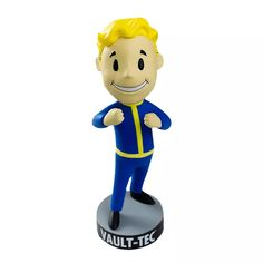 Fallout 3 Vault Tec Pip Boy Unarmed Bobblehead Figure Toy Tall for sale online
