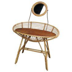 Bamboo Vanity Table