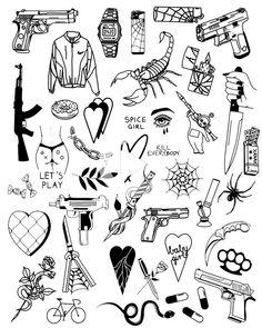 Doodle tattoo – Graffiti World Mini Tattoos, New Tattoos, Body Art Tattoos, Small Tattoos, Tattoos For Guys, Ship Tattoos, Ankle Tattoos, Arrow Tattoos, Word Tattoos
