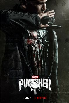 After an excellent first season of Jon Bernthal playing Frank Castle on Marvel's The Punisher for Netflix, season two's opener ironically requires a leap of faith. Punisher Marvel, Rpg Marvel, Marvel Avengers, The Punisher 2017, Punisher Netflix, Netflix Marvel, Punisher Cosplay, Punisher Skull, Daredevil Punisher