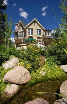 A tasteful home with a luscious garden. Aspen, CO Coldwell Banker Mason Morse Real Estate $6,850,000
