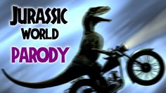 Hell yeah! Raptors on Wheels! Und wer weiss, vielleicht sind Dinos auf Motorrädern der bessere 4. Teil? Sollte das mit den Dinos in Jurassic World in die Hosen gehen, will ich unbedingt eine 90 minütige Version hiervon: Jurassic Weird!