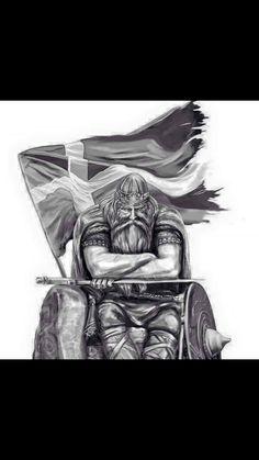 Pin Up Tattoos, Small Tattoos, Cool Tattoos, Tatoos, Viking Art, Viking Warrior, Vikings, Valkyrie Tattoo, Viking People