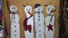 Crazy Snowmen
