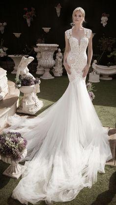 Featured Dress: Naama & Anat; Wedding dress idea.
