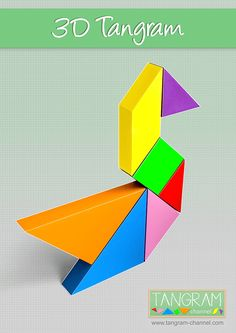 Tangrams: A Cross Curricular, Experiential Unit Tangram Puzzles, Experimental, Cross Curricular, Art Plastique, Craft Activities, Free Games, Card Games, 3 D, The Unit
