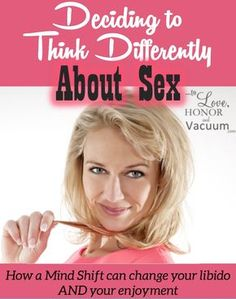 Developing a new attitude towards sex: Because sometimes thinking differently is all you need to make sex great in your marriage!