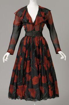 1948 Balenciaga dress