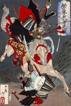 [フリー絵画素材] 月岡芳年 - 芳年武者无類 相模次郎平将門 (1885) ID:201403080000                                                                                                                                                                                 もっと見る