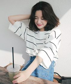 Korean hairstyle hair by best 25 korean hair ideas on korean. Ulzzang Fashion, Ulzzang Girl, Asian Fashion, Style Fashion, Korean Girl, Asian Girl, Korean Men Hairstyle, Look Girl, Style Casual