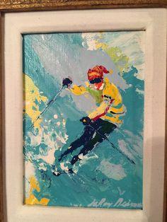 Original Skier | LeRoy Neiman #leroyneiman