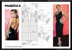 Entre as últimas tendências da moda fashion o decote nas costas ficou evidenciado em desfiles como o Fashion Rio que o vestido com frente-...