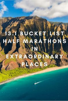 13 Bucket List Half Marathons in Extraordinary Places Ready to run a half marathon in Tahiti? How about Kauai? Here's more than a dozen races you can run in some of the world's most amazing places to visit. Running Half Marathons, Half Marathon Training, Half Marathon Tips, Running Race, Running Workouts, Running Tips, Running Humor, Trail Running, Running Schedule