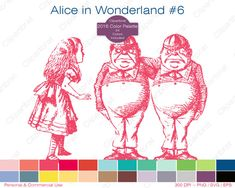 ~Alice in Wonderland~ First meetings, and how your friend group began. Alice In Wonderland Clipart, Create Your Own Reality, Image Paper, Embroidery Fabric, Sell On Etsy, Vintage Images, Altered Art, Digital Illustration, Framed Art
