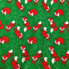 11 YARD 1 meter Organic jersey fabric 'Fox' by bora door ByBora, $28,50  via etsy (NL) of Borashop