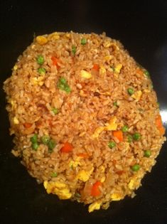Fried Brown Rice | The Anti Mom Blog