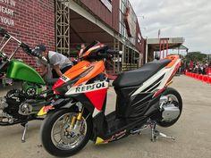 HRC click150i... Vario 150, Super Bikes, Motors, Honda, Dan, Motorcycle, Vehicles, Amazing, Motor Scooters