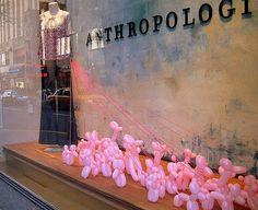 Little Red Birds Blog: Window Display: Balloon Poodles