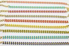 Colored Chevron Bracelets / Brass / Chevron Bracelet / Boho Bracelet / Colored Bracelet / Gift for Her Chevron Armband, Boho, Messing, Etsy Shop, Bracelets, Presents, Bracelet, Bohemian, Boho Aesthetic