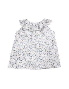 Camisa Velazques bluzka bez rękawków kwiaty