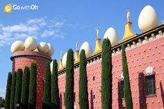 Salvador Dalí Museum a day trip from #Barcelona! #mustsee #GowithOh