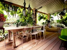 лоджия в стиле прованс - Поиск в Google Interior Balcony, Patio, Google, Outdoor Decor, Home Decor, Decoration Home, Terrace, Room Decor, Porch