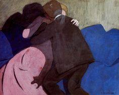 The Kiss - Felix Valloton