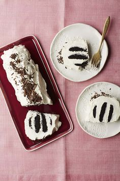 This cake — aptly named Old School — is adapted from Nabisco's original icebox cake recipe from the 1930s