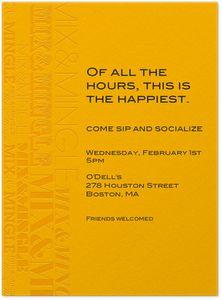 Send Happy Hour Invitations From Evite Postmark