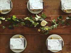 Table setting at Sydney Kinfolk Mag Honey Harvest - Instagram @luisabrimble #TheUrbanBeehive #kinfolkmag #kinfolkworkshop #kinfolk