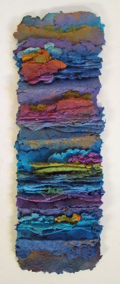 Artists are: Allen and Pat Littlefield - handmade paper.