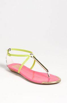 9ba911318355 DV by Dolce Vita  Archer  Sandal. It looks like a neon watermelon!