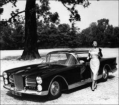 Facel Vega 1961 French Classic, Classic Cars, Vintage Cars, Antique Cars, Vintage Photos, Vegas, Bentley Car, Vintage Classics, Automotive Design