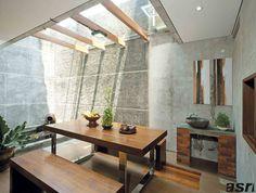 Outdoor Patio Table Decor Dining Rooms 60 Ideas For 2019 Home Room Design, Home Interior Design, House Design, Garden Design, Exterior Design, Minimalist Architecture, Interior Architecture, Garden Architecture, Patio House Ideas