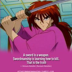 ❤❤The source of Anime & Manga quotes Era Meiji, Samurai, Real Anime, Manga Quotes, Rurouni Kenshin, Anime Life, Manga Games, Cosplay, Anime Shows