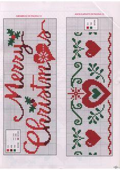 (8) Gallery.ru / Фото #67 - Ric Amare №9 2018 - Chispitas Cross Stitch Tree, Cross Stitch Letters, Cross Stitch Bookmarks, Beaded Cross Stitch, Cross Stitch Baby, Modern Cross Stitch, Cross Stitch Embroidery, Cross Stitch Christmas Ornaments, Christmas Cross