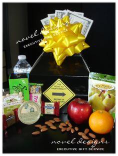 Custom Road to Profitability Gift Basket