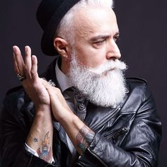 Alessandro Manfredini — aka Hipster Santa as my cousin says