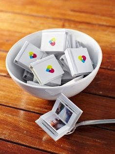 Personalize your gifts by surprising your friends with tiny books filled with Instagram photos featuring your #squad.