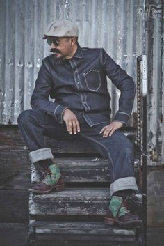 redwhiteblue co long john denim blog bloggers brand handmade usa denim jeans selvage selvedge brothers blue indigo (11)