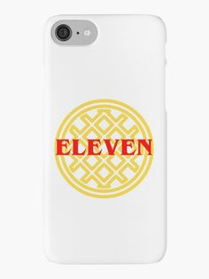Eleven Waffle Stranger Things