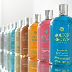 The NEW Molton Brown body collection. Brighter colours. Bolder scents.