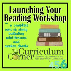 A great post focused on getting reading workshop started (The Curriculum Corner)
